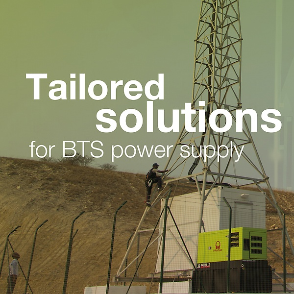 Pramac-Tailored-Solution-BTS-Power Supply-Johannesburg