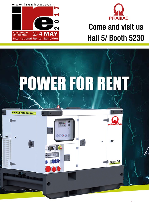 PRAMAC_Power for Rent_IRE2017_Amsterdam
