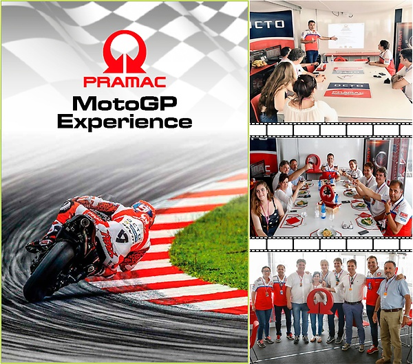 Picture of the Pramac Racing Experience at Montmeló 9th June 2017