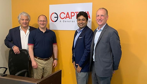 Captiva celebrates the opening of its New Kolkata facilities, the foundation for its business growth