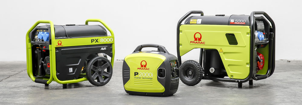 PRAMAC - Portable Generators