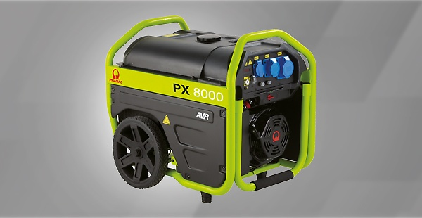 The Pramac PX Series, Engineered and designed for intensive applications, these generators combine endurance and functionality, being compact, efficient and reliable.