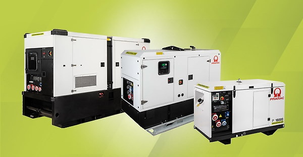 Pramac's GRW Series, designed for the rental business. Environmentally friendly, reliable and long-lasting, the GRW generators meet the most demanding power needs