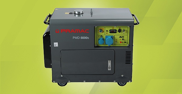 PMD home backup generators: Pramac's diesel portable generators for home use provide prompt start-up and long-lasting power in case of a sudden power outage