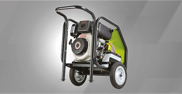 Petrol and diesel driven cold water high pressure washers designed to meet your professional and recreational demands