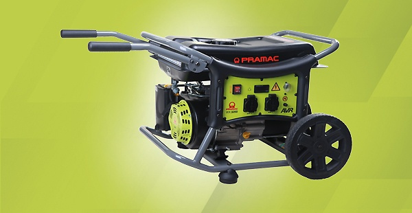 Pramac's WX generators are ideal to power your outdoor activities and jobsites. The WX series is also suited for emergency home use
